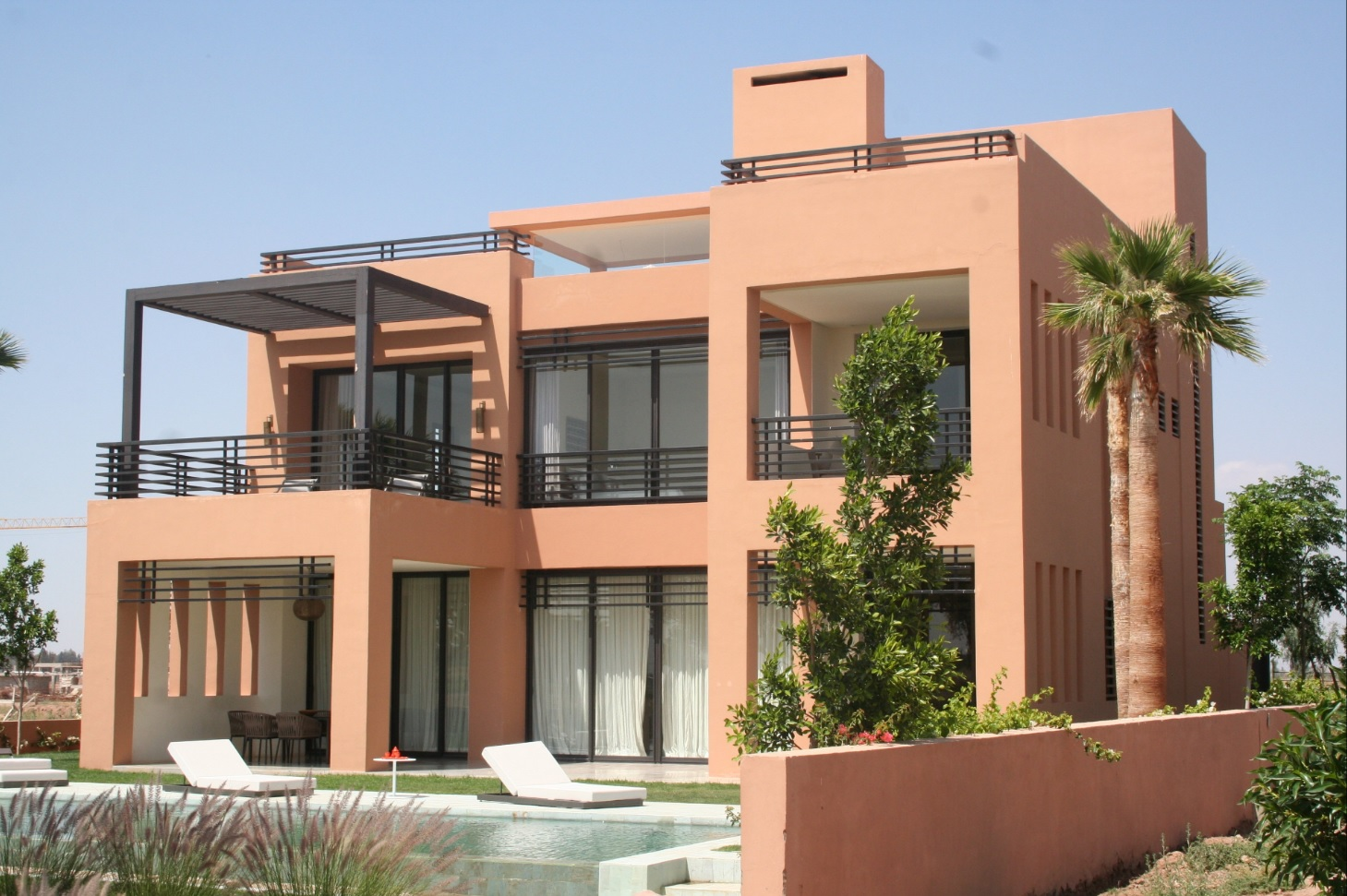 Obm maison obm building for Decoration villa moderne